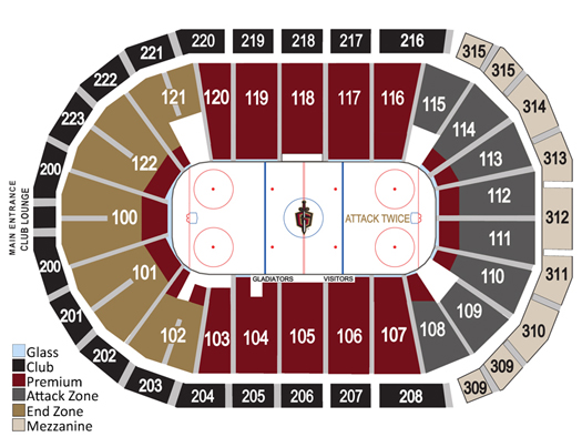 The Official Website of the Atlanta Gladiators: Single ...